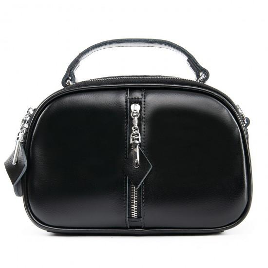 Женская сумка из натуральной кожи ALEX RAI 8389 черный