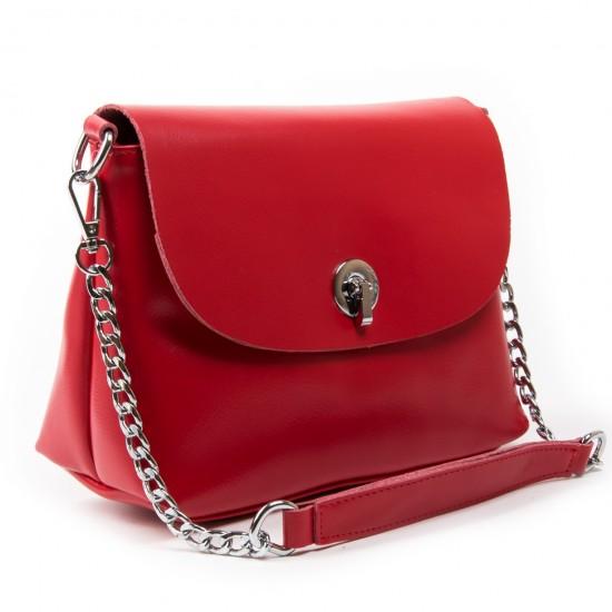 Женская сумка из натуральной кожи ALEX RAI 321-1 красный
