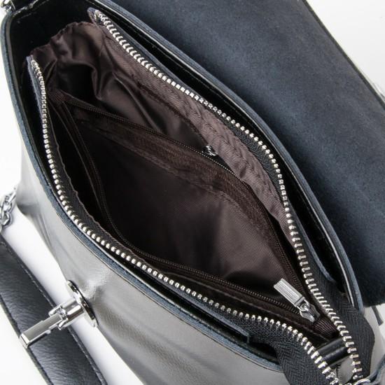 Женская сумка из натуральной кожи ALEX RAI 321-1 черный