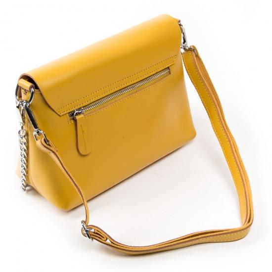 Женская сумка из натуральной кожи ALEX RAI 321-1 желтый
