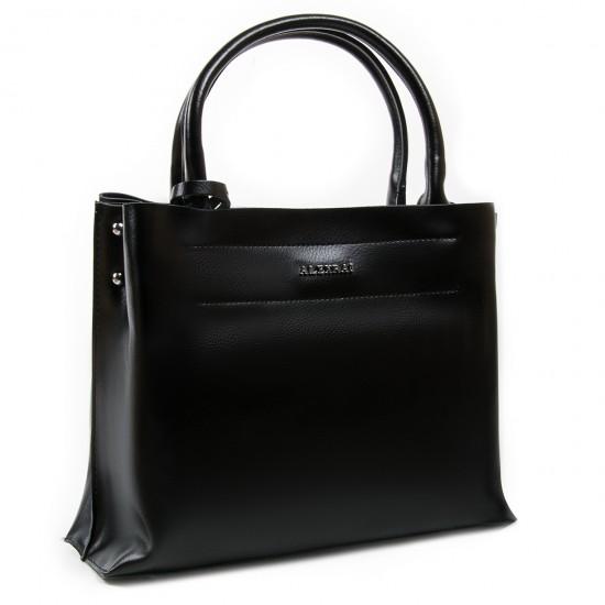 Жіноча сумка з натуральної шкіри ALEX RAI 8550-1 чорний