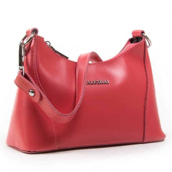 Жіноча сумка з натуральної шкіри ALEX RAI 2232 фуксія