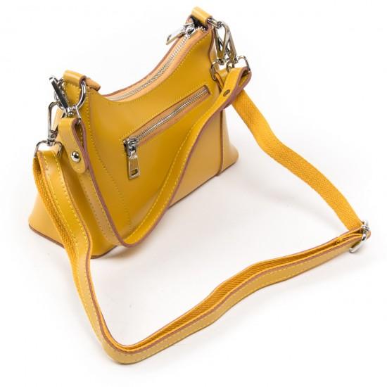 Жіноча сумка з натуральної шкіри ALEX RAI 2232 жовтий