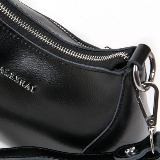 Женская сумка из натуральной кожи ALEX RAI 2232 черный