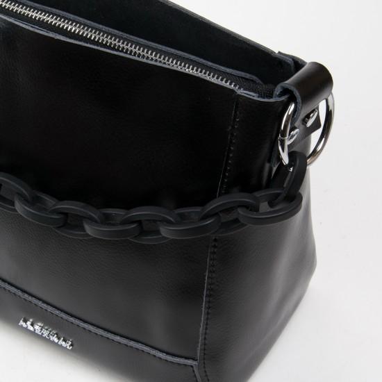 Женская сумка из натуральной кожи ALEX RAI 1897 черный