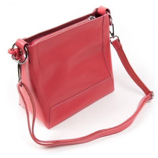 Женская сумка из натуральной кожи ALEX RAI 1897 фуксия