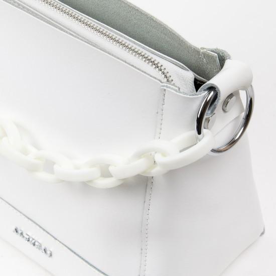 Женская сумка из натуральной кожи ALEX RAI 1897 белый