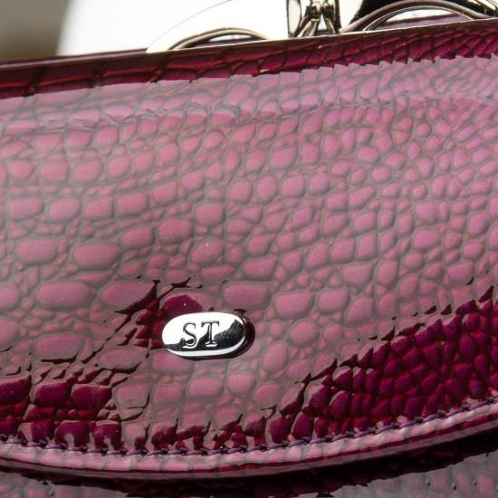 Жіночий шкіряний гаманець SERGIO TORRETTI WS-11 рожевий