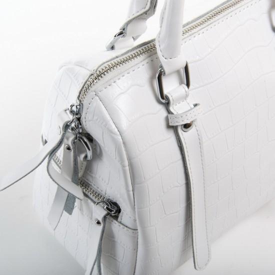 Женская сумка из натуральной кожи ALEX RAI 2234 белый