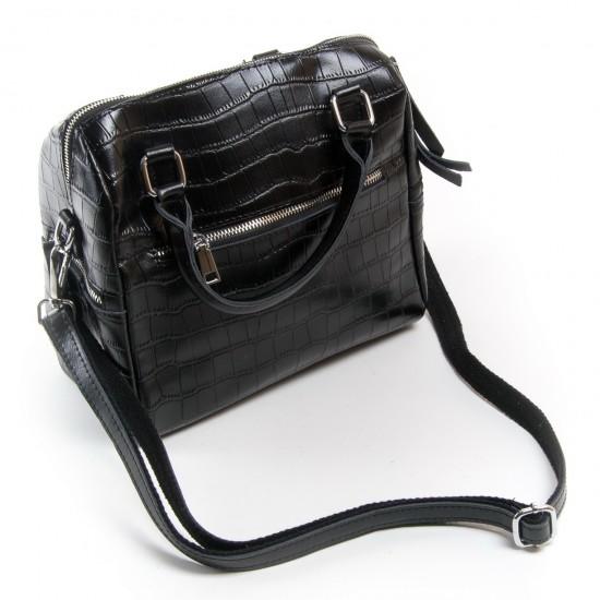 Женская сумка из натуральной кожи ALEX RAI 2234 черный