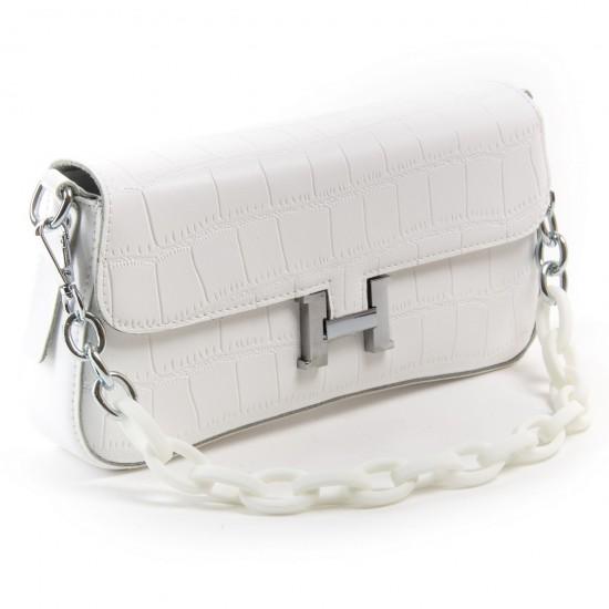 Женская сумка из натуральной кожи ALEX RAI 1898 белый