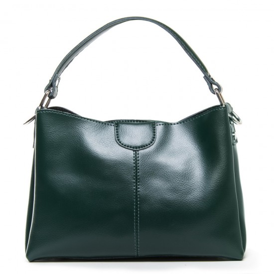 Женская сумка из натуральной кожи ALEX RAI 1383 зеленый