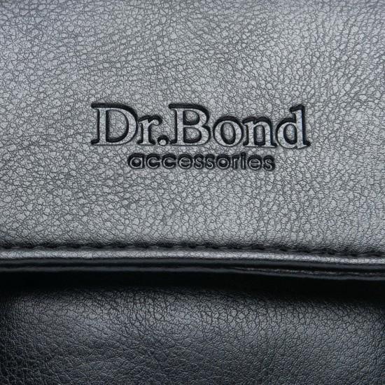 Чоловіча сумка-планшет Dr.Bond GL 319-0 чорний