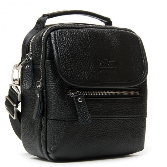 Мужская сумка-планшет из натуральной кожи dr.Bond 20148 черный