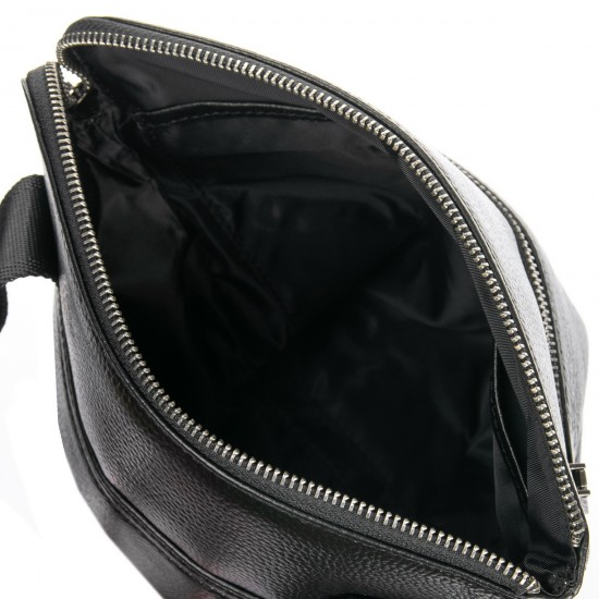 Чоловіча сумка-планшет з натуральної шкіри BRETTON BE BP 3565-3 чорний