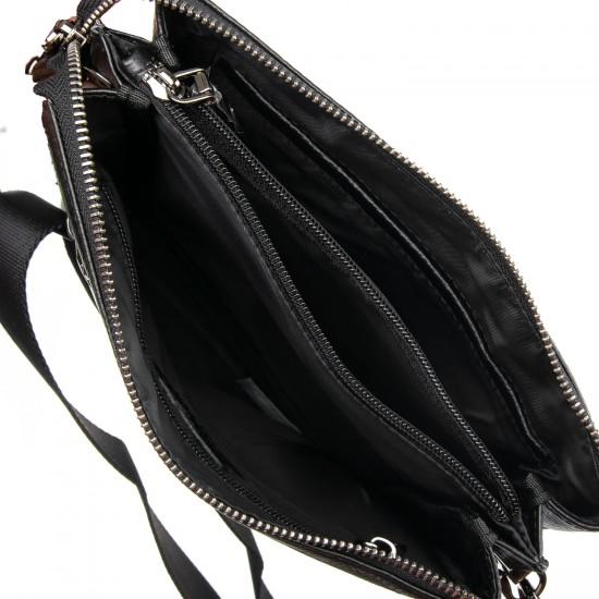 Чоловіча сумка-планшет з натуральної шкіри BRETTON BP 5467-3 чорний