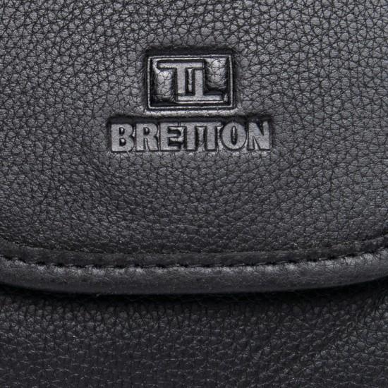 Мужская сумка-планшет из натуральной кожи BRETTON BE 3513-5 черный