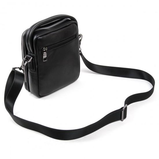 Мужская сумка-планшет из натуральной кожи BRETTON BE 411-5 черный
