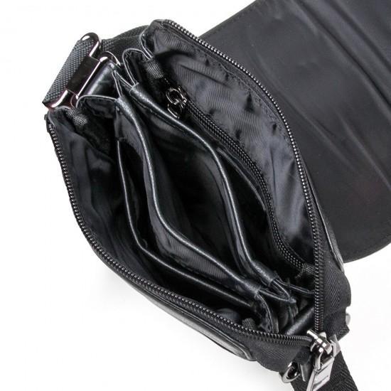 Мужская сумка-планшет из натуральной кожи BRETTON BE N2040-6 черный