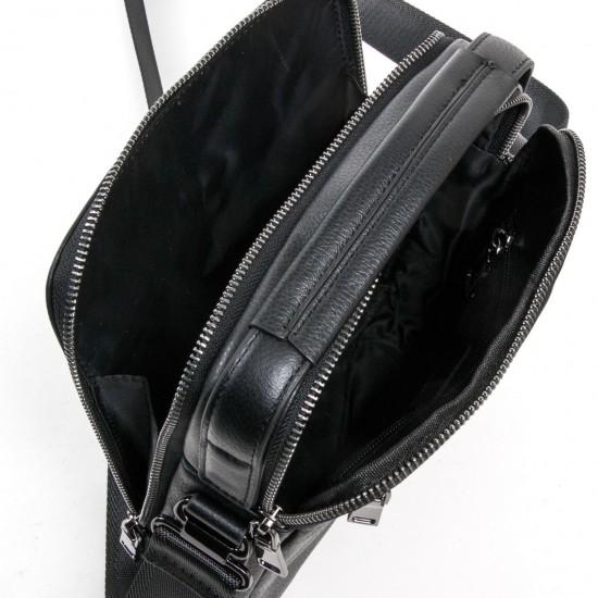 Мужская сумка-планшет из натуральной кожи BRETTON BE 1615-4 черный