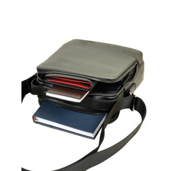 Мужская сумка-планшет из натуральной кожи BRETTON BE 3516-4 черный