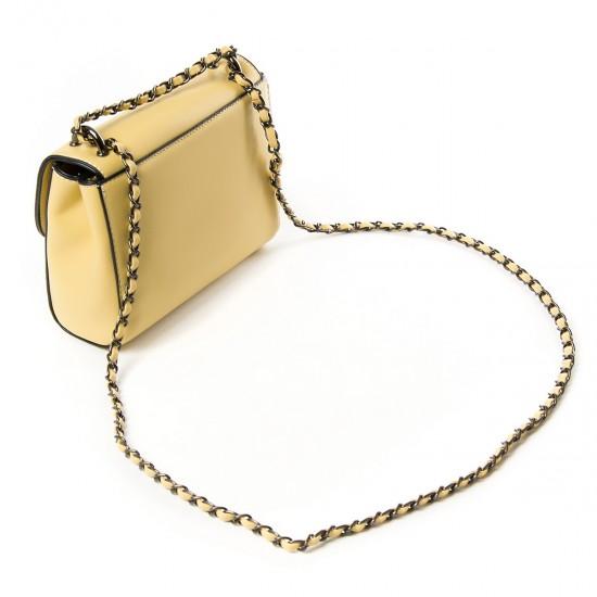 Жіноча сумочка-клатч FASHION 9909 жовтий