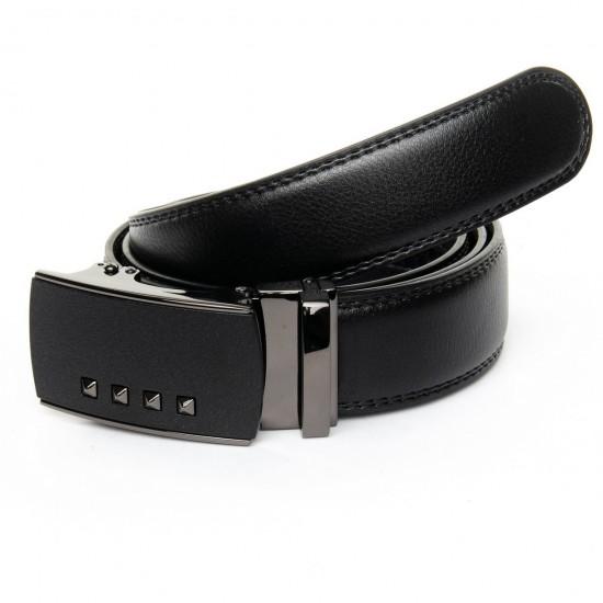 Мужской кожаный ремень Z5-DM-6468-1 черный