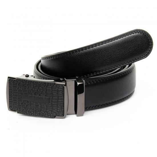 Мужской кожаный ремень 25-DM-6441-1 черный
