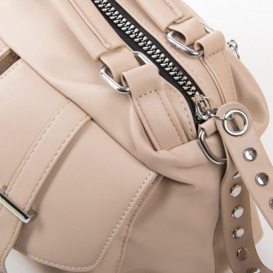 Жіноча модельна сумочка FASHION 5709 бежевий