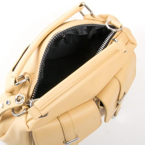 Жіноча модельна сумочка FASHION 5709 жовтий