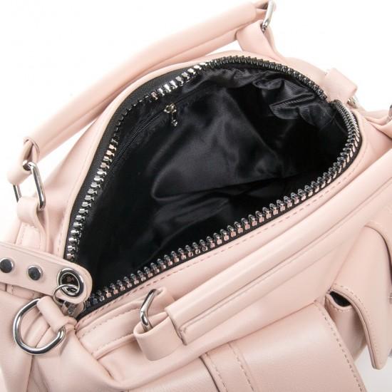 Жіноча модельна сумочка FASHION 5709 пудра