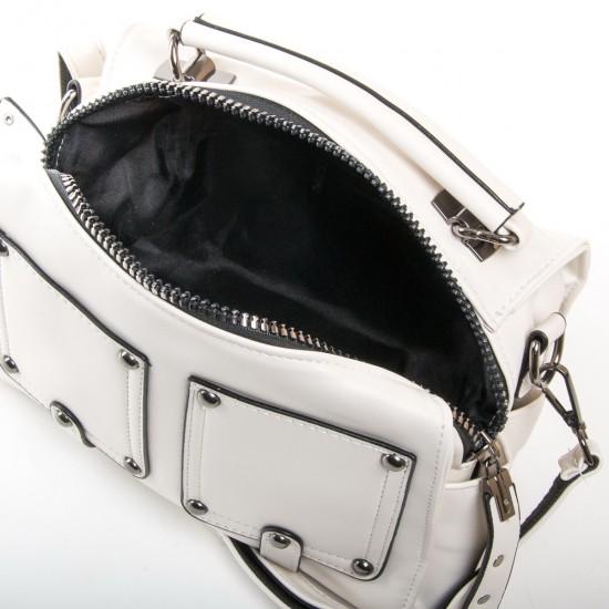 Жіноча модельна сумочка FASHION 2110 білий