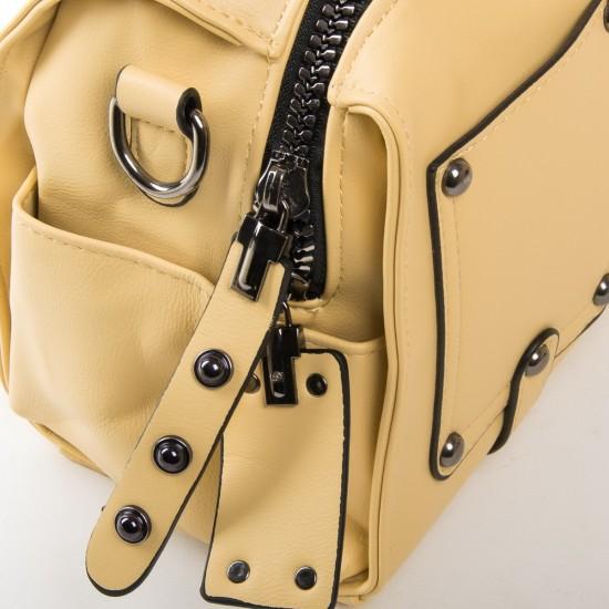 Женская модельная сумочка FASHION 2110 желтый