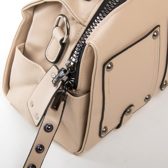 Жіноча модельна сумочка FASHION 2110 бежевий