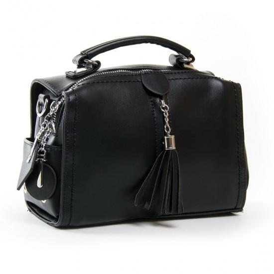 Женская модельная сумочка FASHION 53366 черный