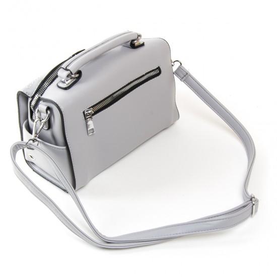Женская модельная сумочка FASHION 53366 серый