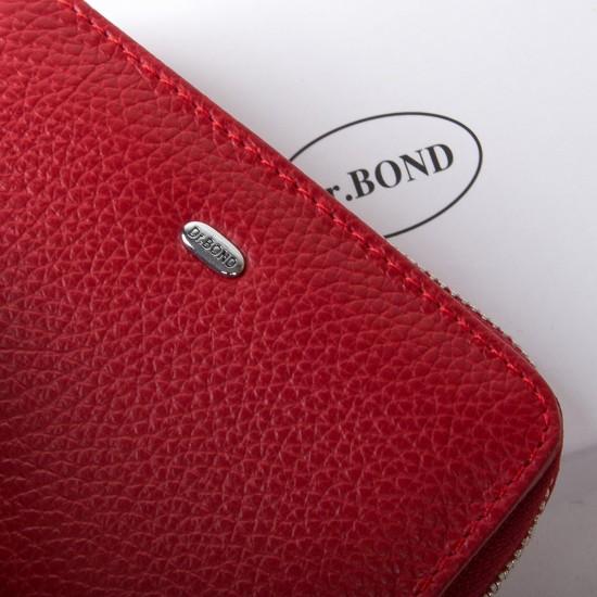 Жіночий шкіряний гаманець dr.Bond Classic WN-4 червоний