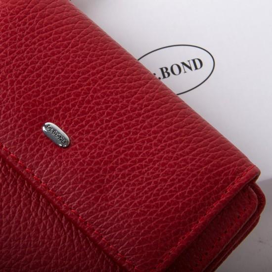 Жіночий шкіряний гаманець dr.Bond Classic WN-1 червоний