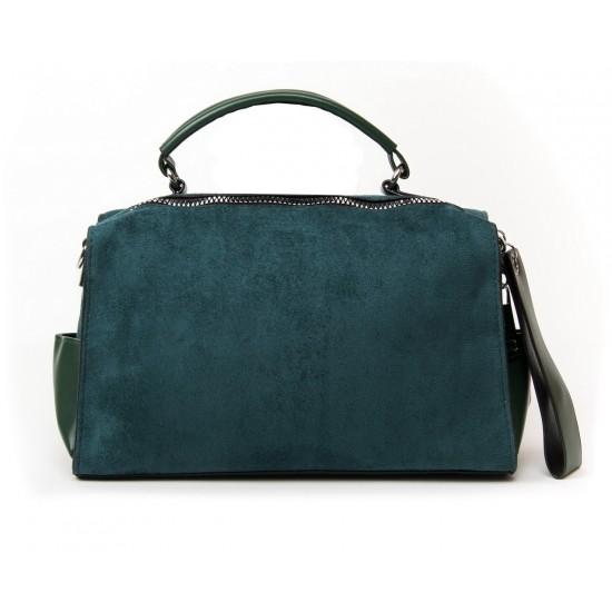 Жіноча сумочка-рюкзак з замша FASHION 11041 зелений