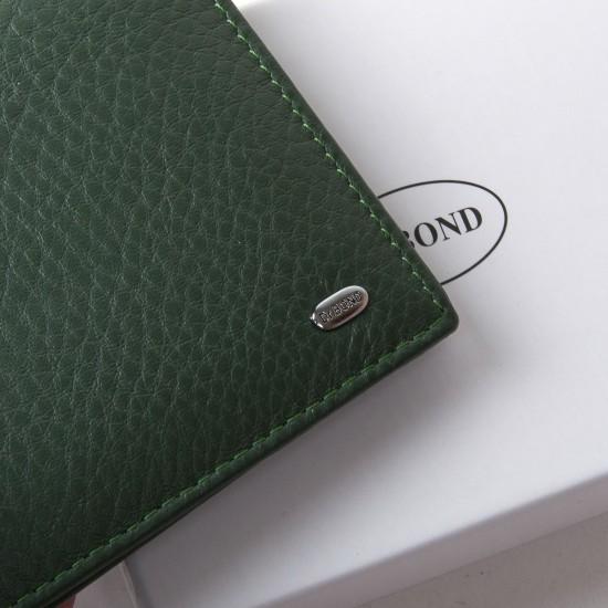 Женский кожаный кошелек dr.Bond Classic  WN-7 зеленый