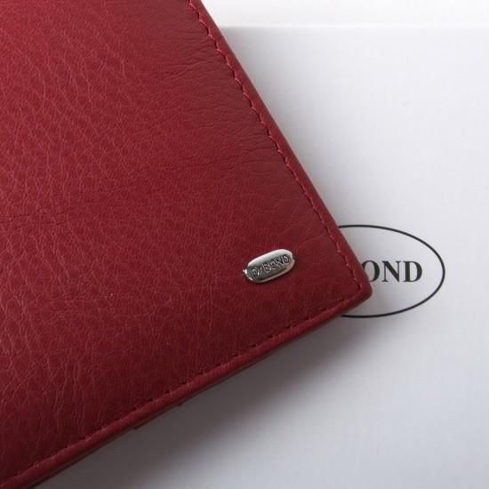 Женский кожаный кошелек dr.Bond Classic  WN-7 бордовый