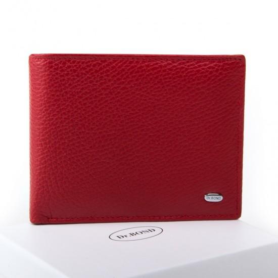 Женский кожаный кошелек dr.Bond Classic  WN-7 красный