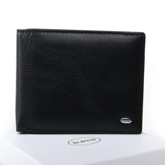 Женский кожаный кошелек dr.Bond Classic  WN-7 черный