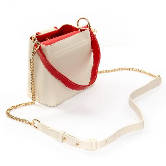 Женская сумочка-клатч FASHION 17039 белый