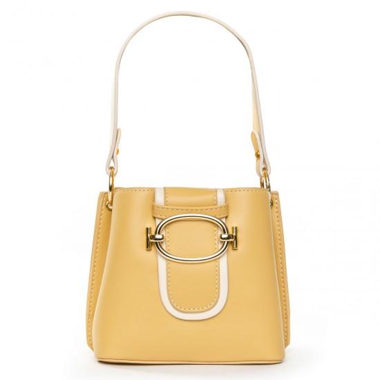 Женская сумочка-клатч FASHION 17039 желтый