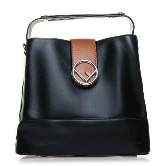 Женская модельная сумочка FASHION 66052 черный