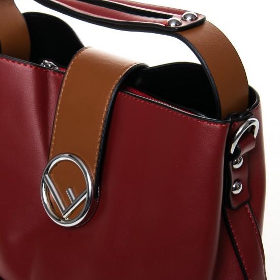 Женская модельная сумочка FASHION 66052 бордовый