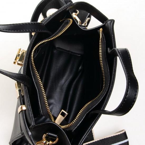 Женская модельная сумочка FASHION 8222 черный