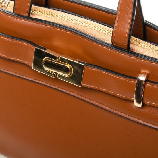 Женская модельная сумочка FASHION 8222 рыжий