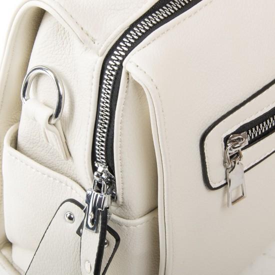 Женская сумка-рюкзак FASHION 5119 белый